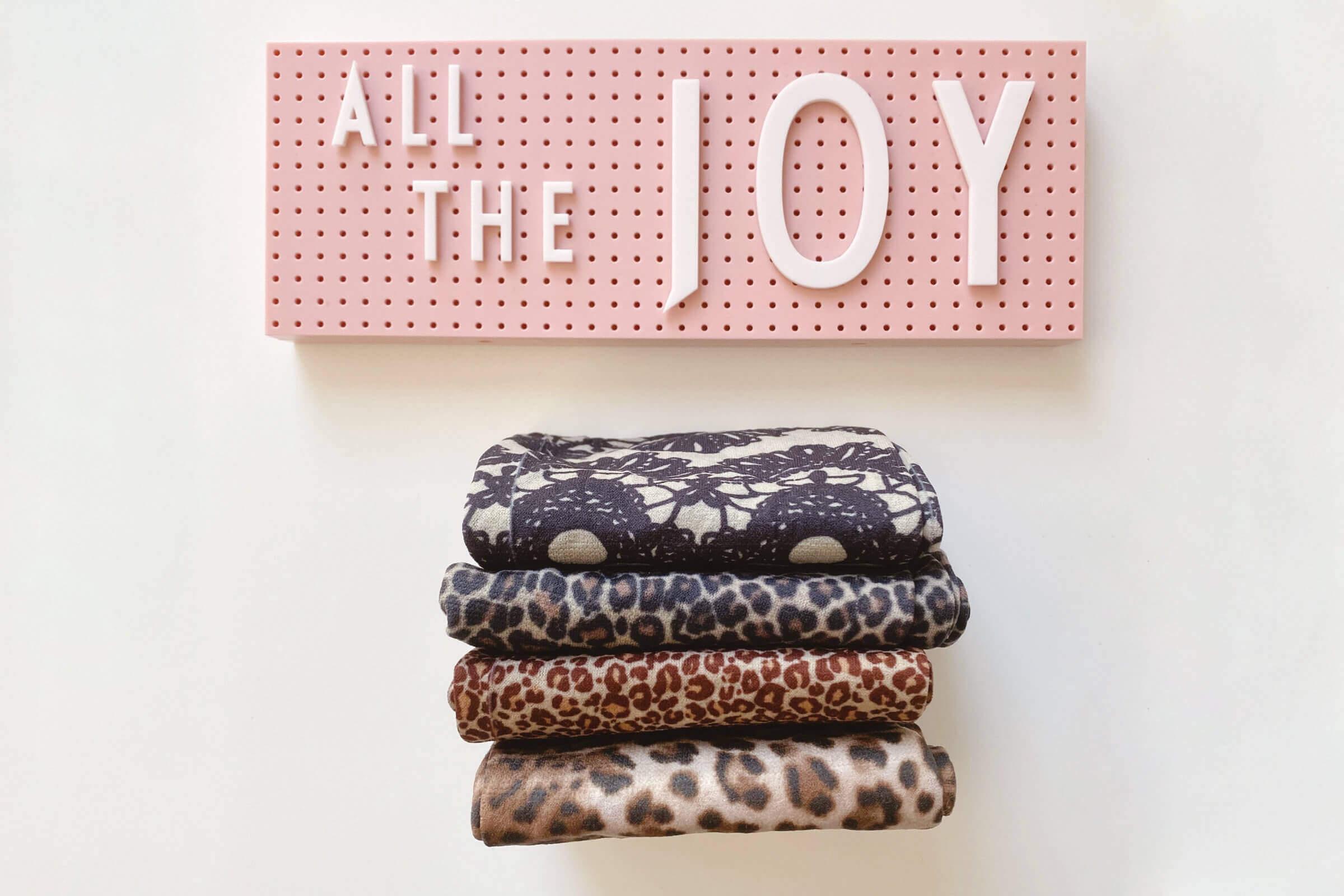 Neatly Folded Stockings That Spark Joy Using The KonMari Method Of Tidying