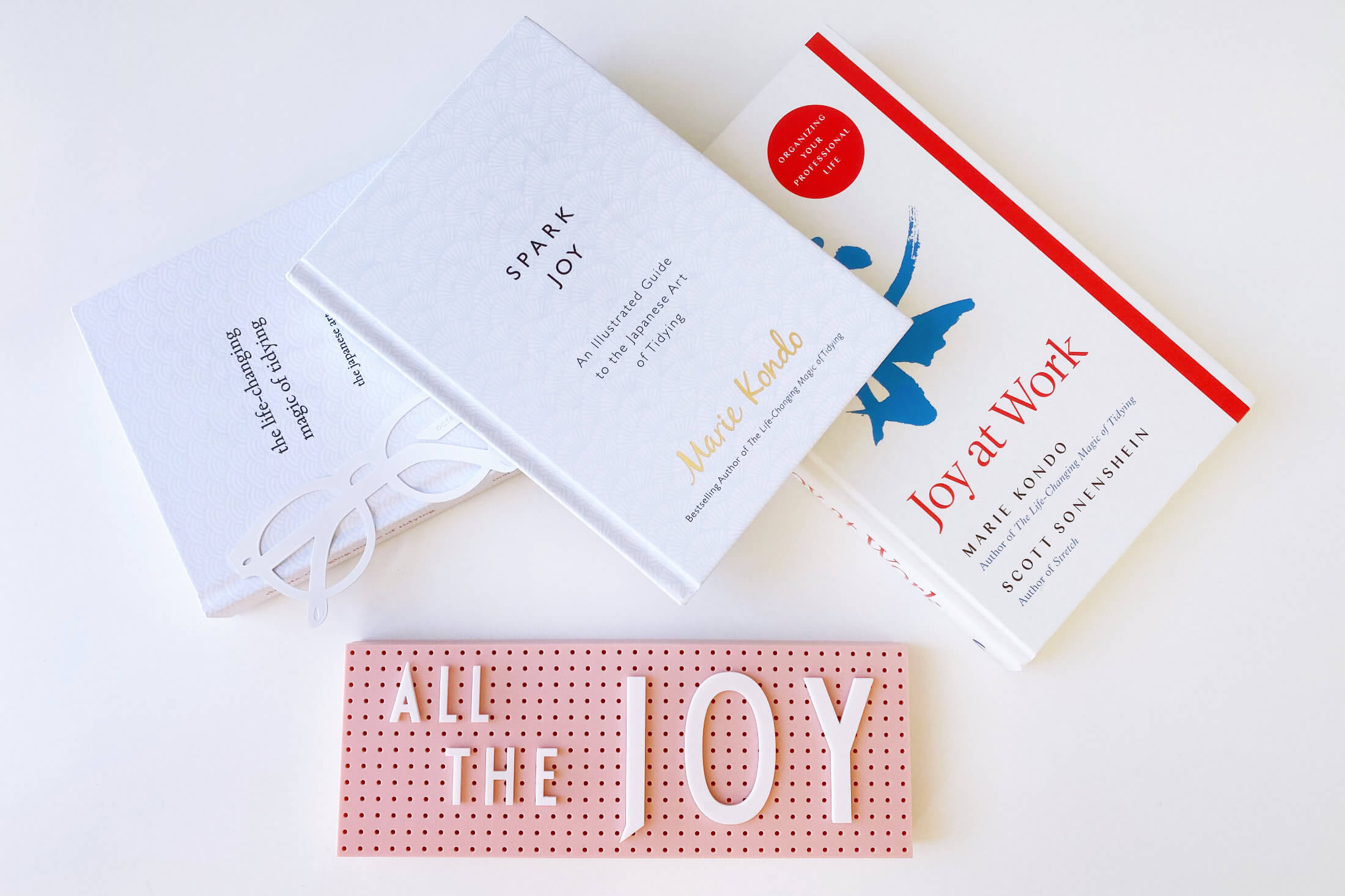 Marie Kondo's Bestselling Books About The KonMari Method And How To Transform Your Life Through Tidying