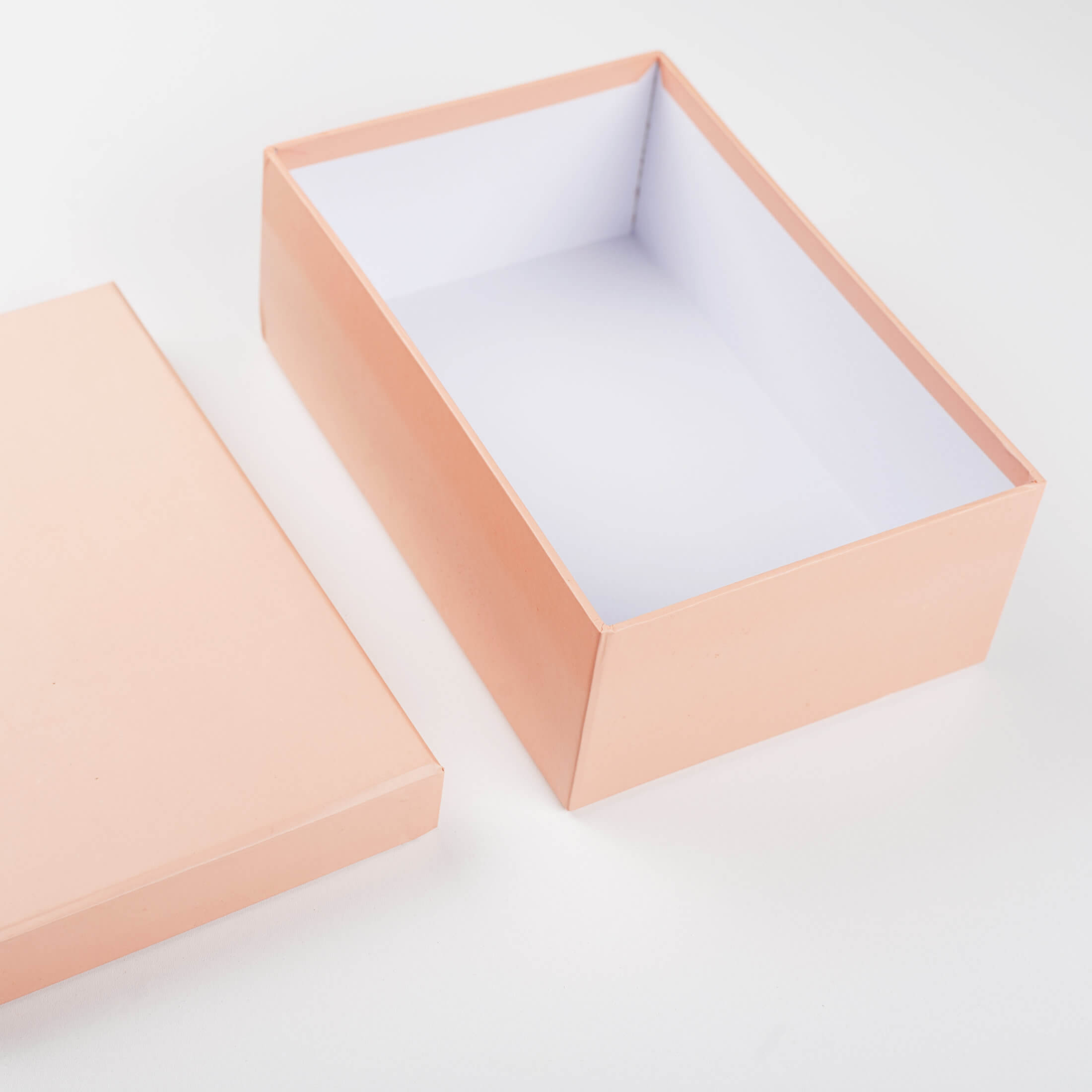 KonMari Method Of Tidying. A Salmon Pink Shoe Box (Or Any Other Colour Of Shoe Box!) Is Perfect For Temporary Storage