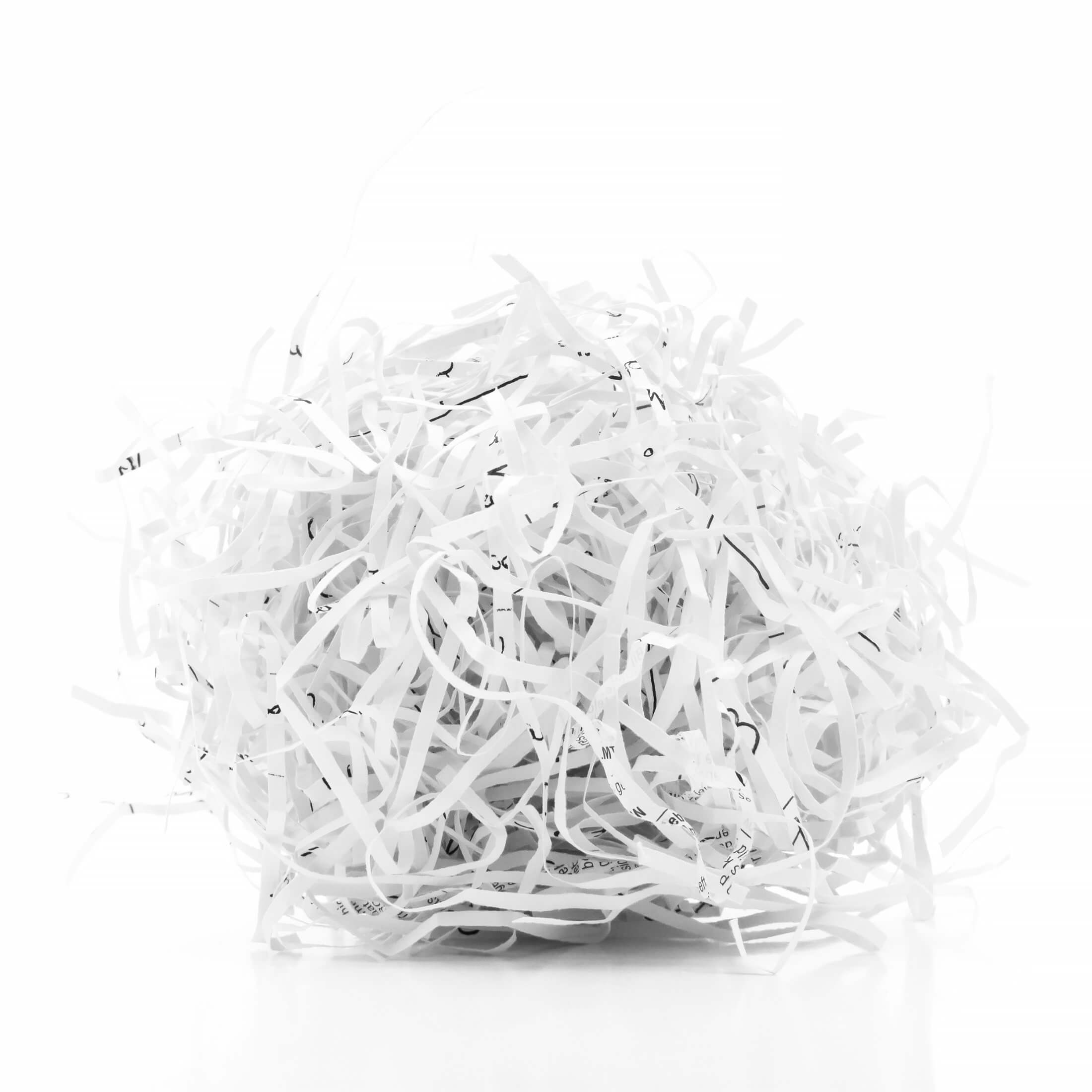 KonMari Tidying. Responsible Discarding Takes On New Meaning In This Category. Here's A Lovely Ball Of Shredded Paper - Yum.