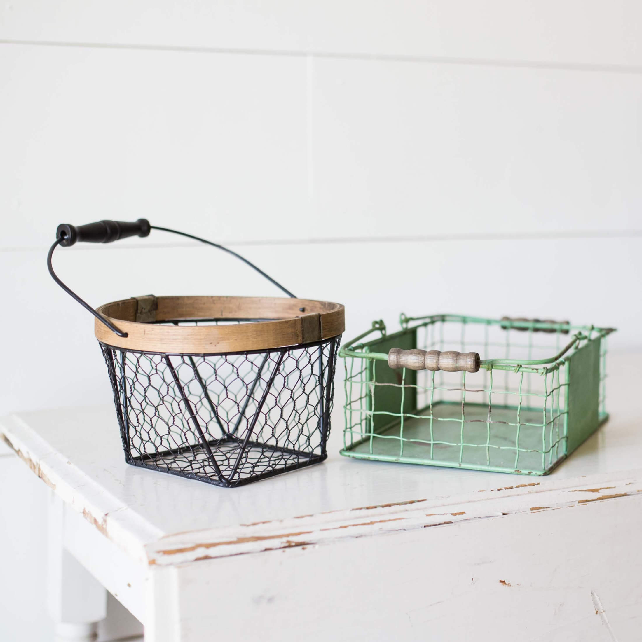 Quirky Baskets Like These Wire Beauties Make For Great Temporary Storage. So Creative. Photo By Stephanie Studer On Unsplash