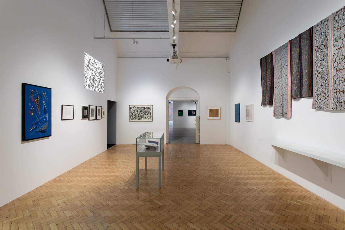 The Botanical Mind - Exhibition at Camden Arts Centre in London. Gallery View 5.