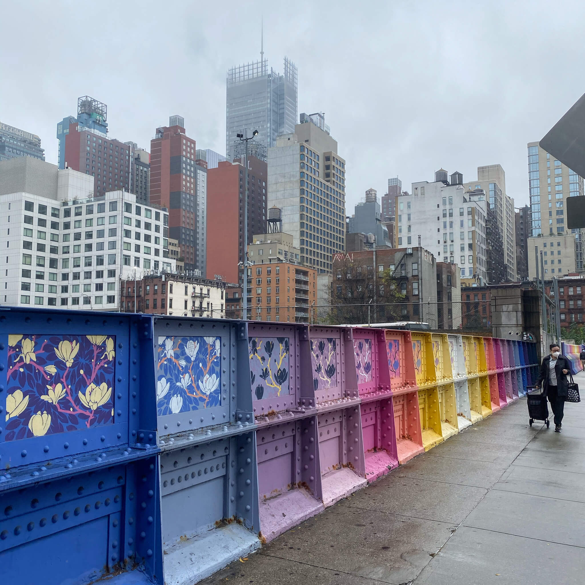 Colourful Street Art Photography by Sarah Sansom