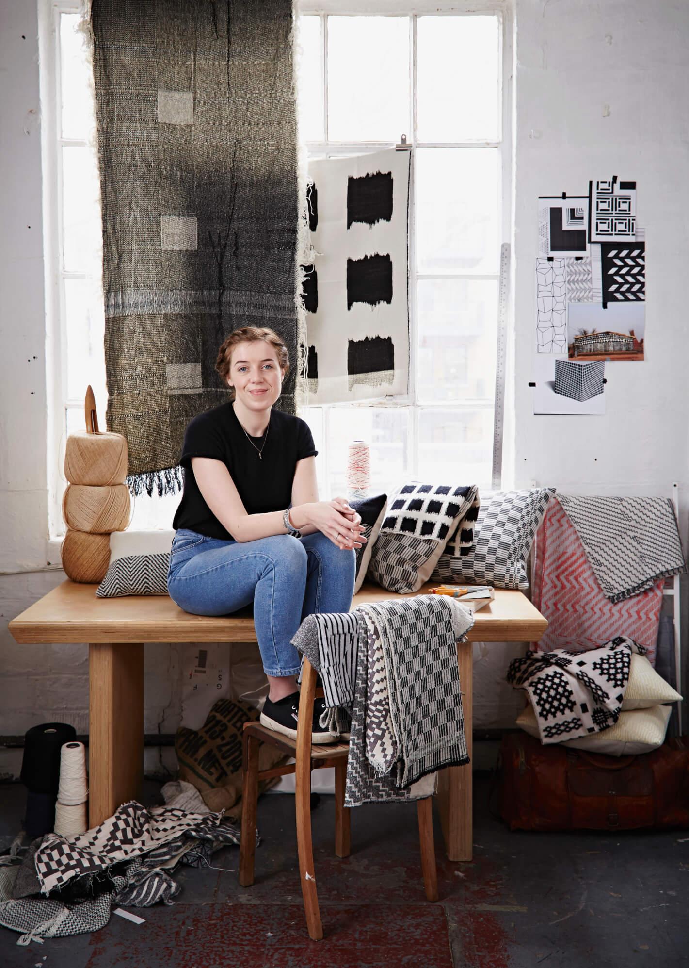 Beatrice Larkin in her Creative Studio