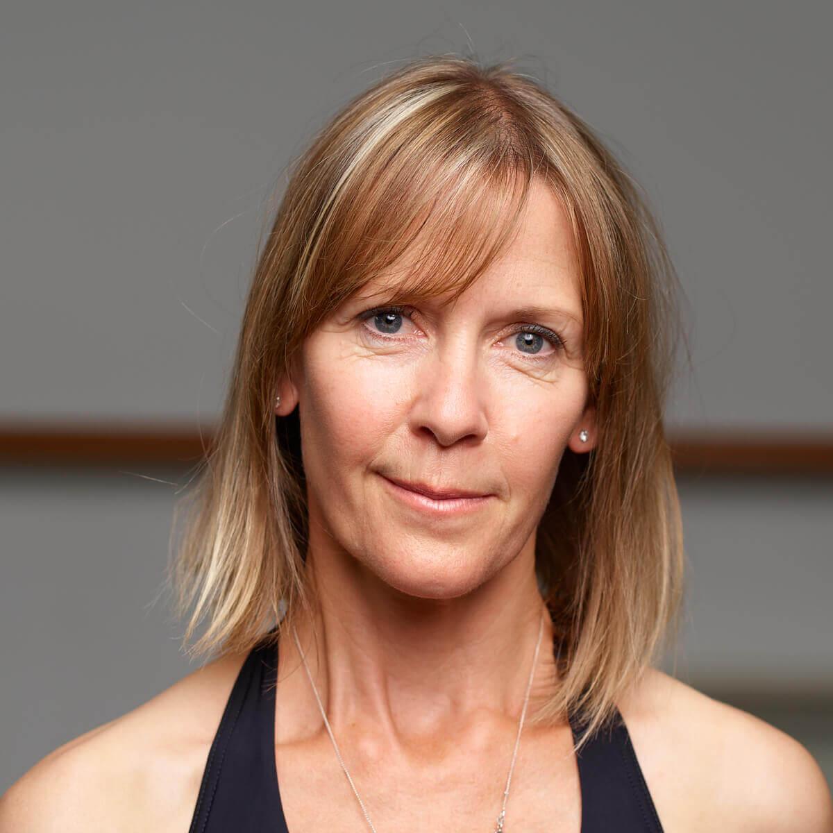 Dance studio portrait of pilates and dance instructor Heather Craig