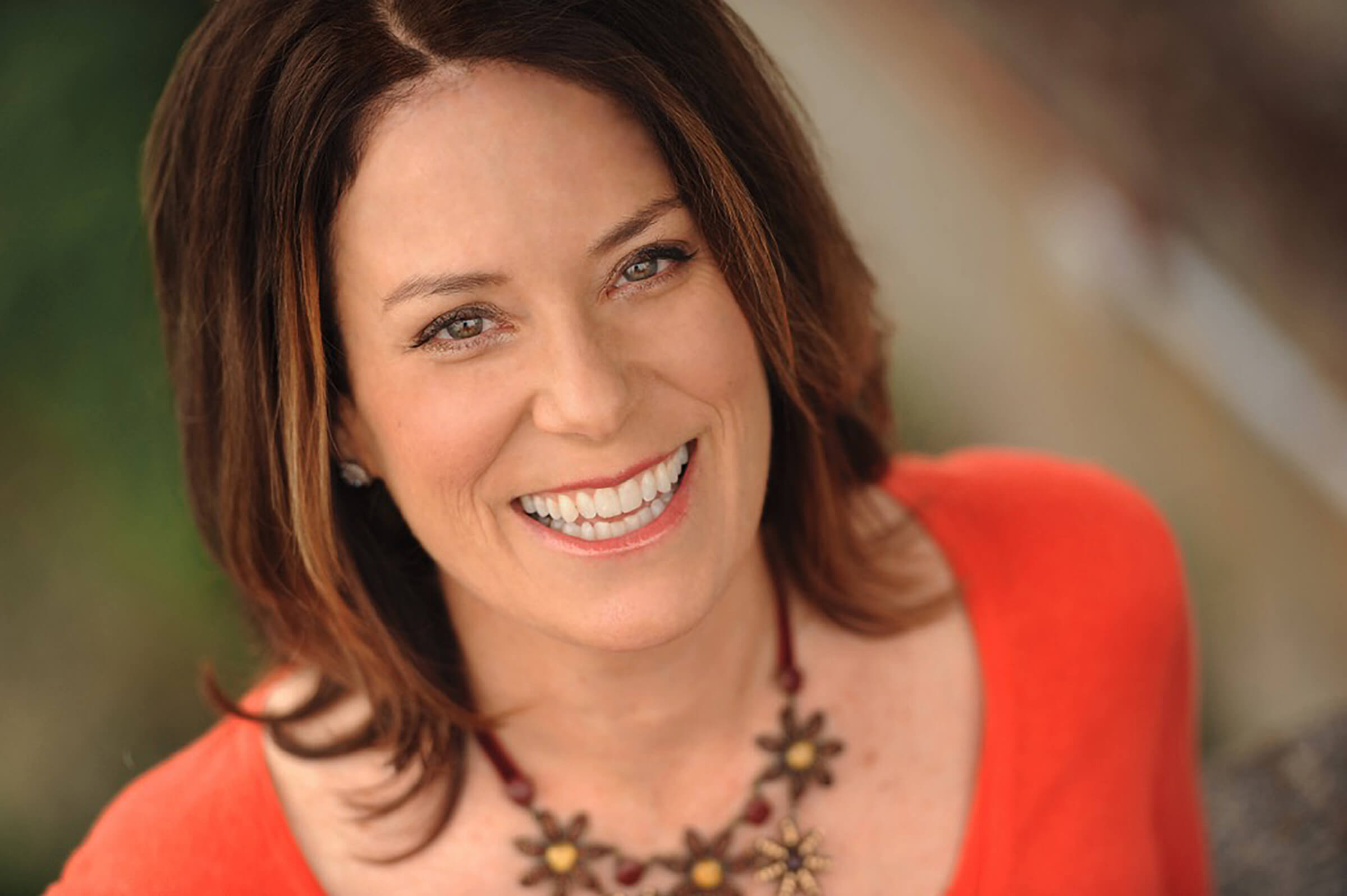 Energy healer Martha Nicholson smiling