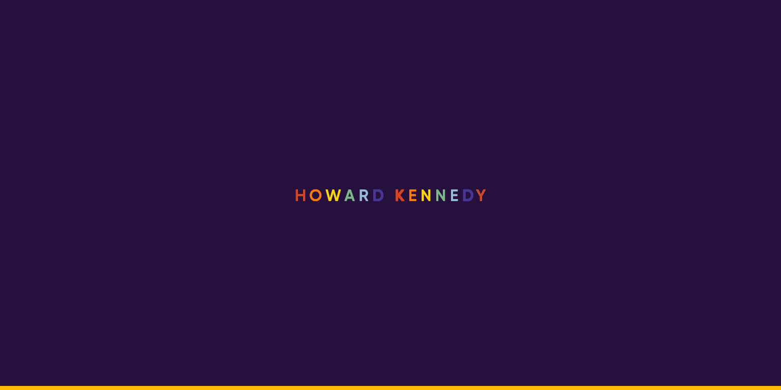 Howard Kennedy law firm - colourful logo in honour of Pride Month